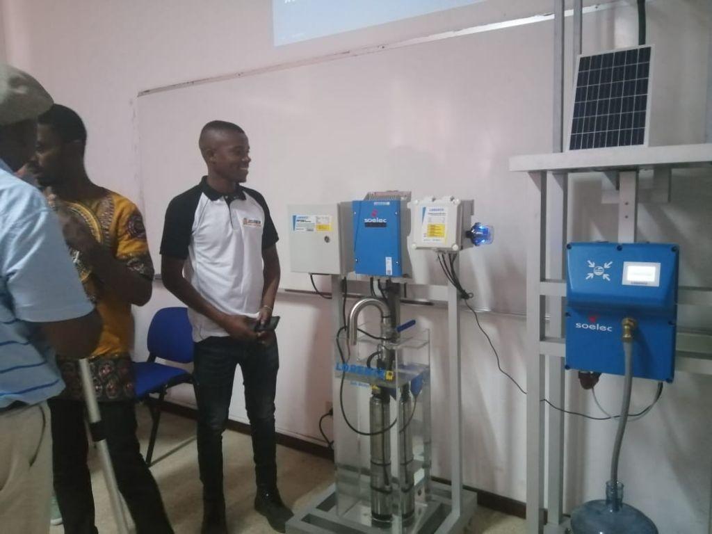 bomba de agua com energia solar Lorentz Partner academy